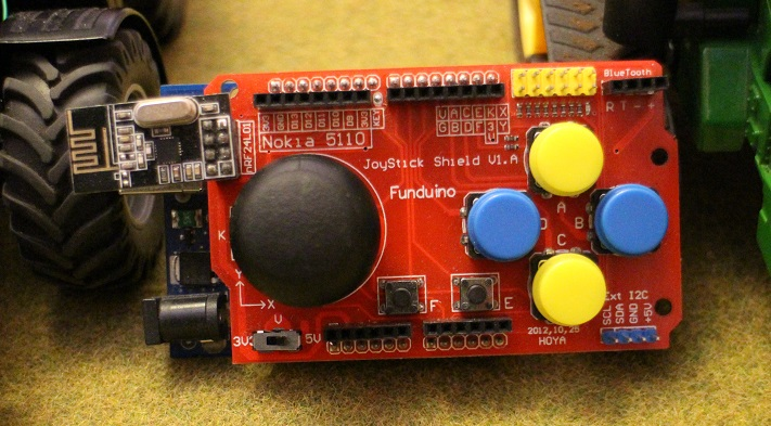 Infrared station on arduino