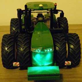 RC John Deere 9560 R Green LEDs