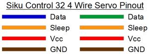 Siku Control 32 4 Wire Servo Pinout