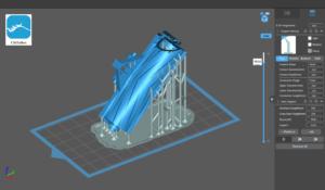 3D Printed Roller Crimper in Chitubox