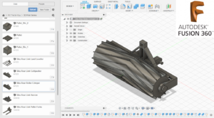 3D Printed Roller Crimper in Autodesk Fusion 360